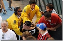 fans  LA Galaxy