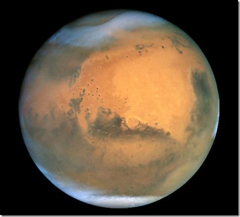 Mars_jepretan Hubble