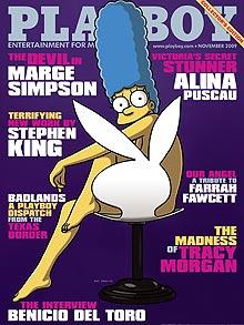 Marge Simson_Playboy