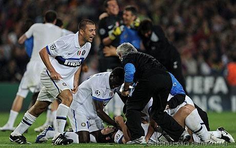 Selebrasi Inter