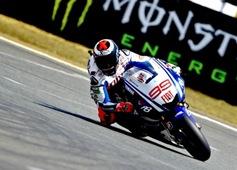 Jorge Lorenzo Le Mans 2010