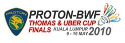 thomas-uber cup 2010 malaysia
